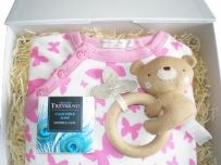 Butterfly Girls Baby Gift Box